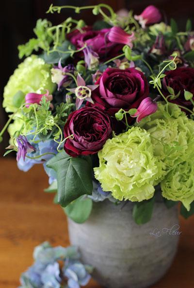 parisから持ち帰った器にお花を活けてみました♪_f0127281_06332.jpg