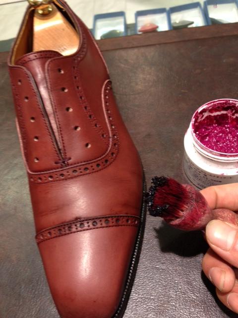 革靴を水洗い(パート2)_b0226322_1616399.jpg