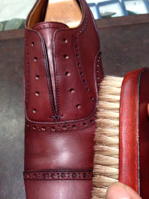 革靴を水洗い(パート2)_b0226322_16173533.jpg