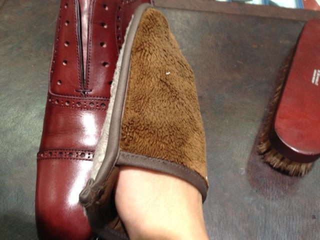 革靴を水洗い(パート2)_b0226322_1619289.jpg