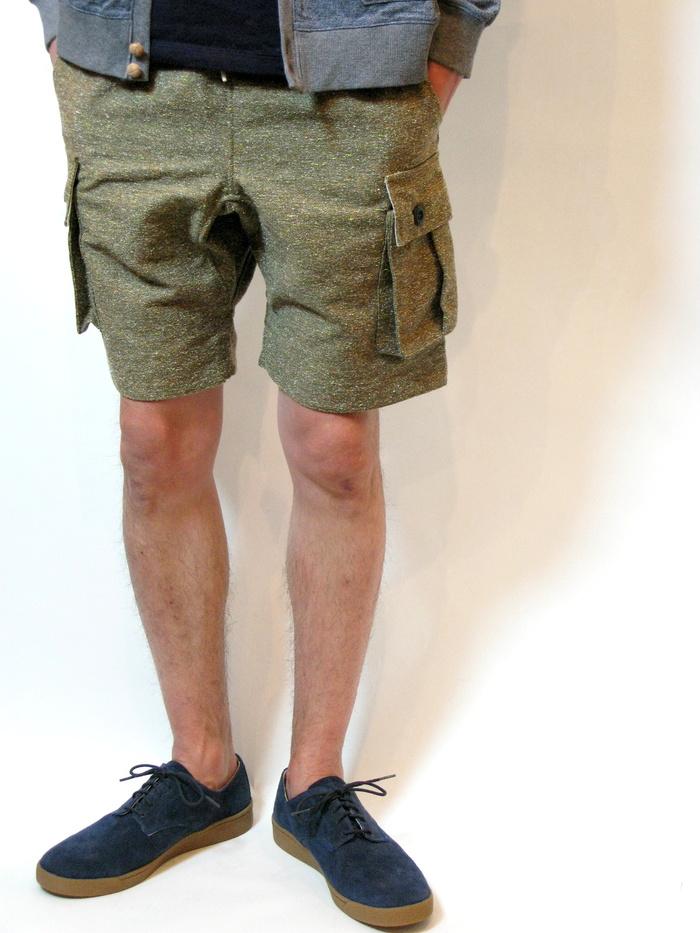 ◆Color Nep Cargo Shorts _e0142928_21245486.jpg