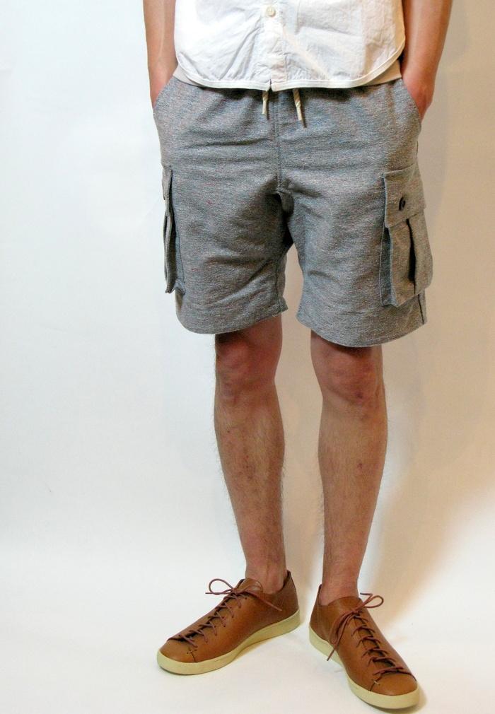 ◆Color Nep Cargo Shorts _e0142928_21252227.jpg