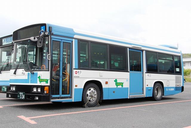日ノ丸自動車~レインボーHRノンステップバス~_a0164734_22332876.jpg