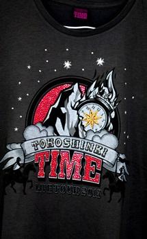 メタルビーズで東方神起Tシャツ 「TIME」_b0048834_14553773.jpg