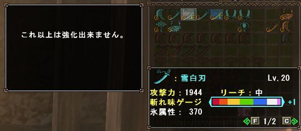 雪白刃Lv20完成!!_b0177042_126356.jpg