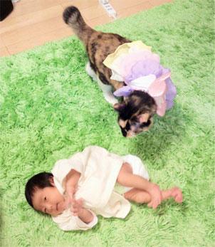 little PAUL&JOEのお洋服 & きなこお姉さん_d0224894_15491652.jpg