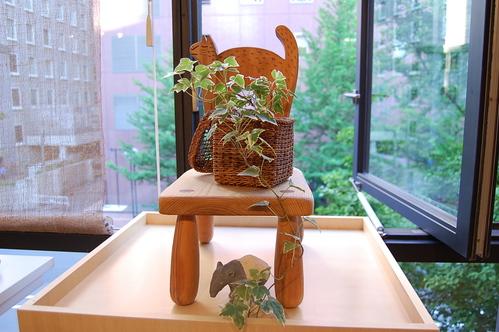 今野親子さんの夏服と間宮和子さんのシゾールの夏帽子_a0112812_22472486.jpg