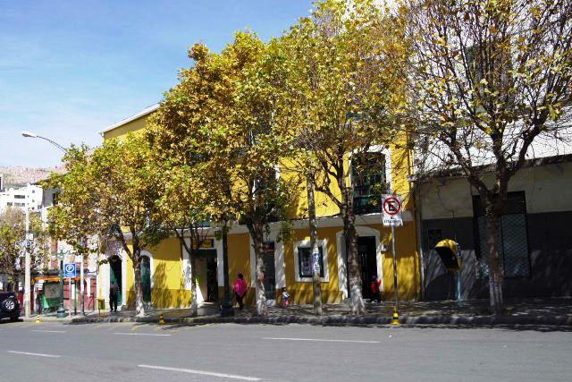 ボリビアの旅(39) 【ラパス】 ラパスの中心 ムリーリョ広場_c0011649_6155285.jpg
