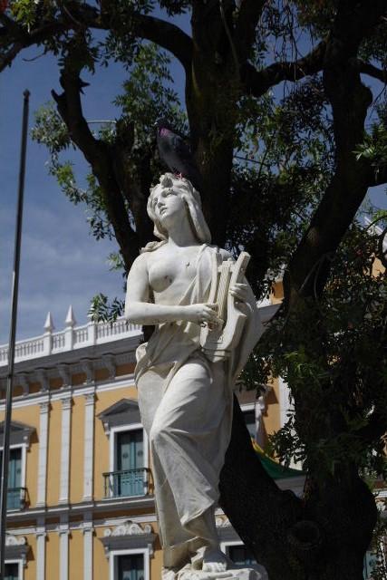 ボリビアの旅(39) 【ラパス】 ラパスの中心 ムリーリョ広場_c0011649_65196.jpg