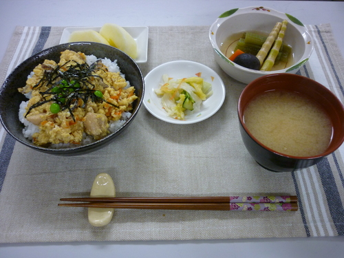 ~親子丼~_d0195052_15361186.jpg
