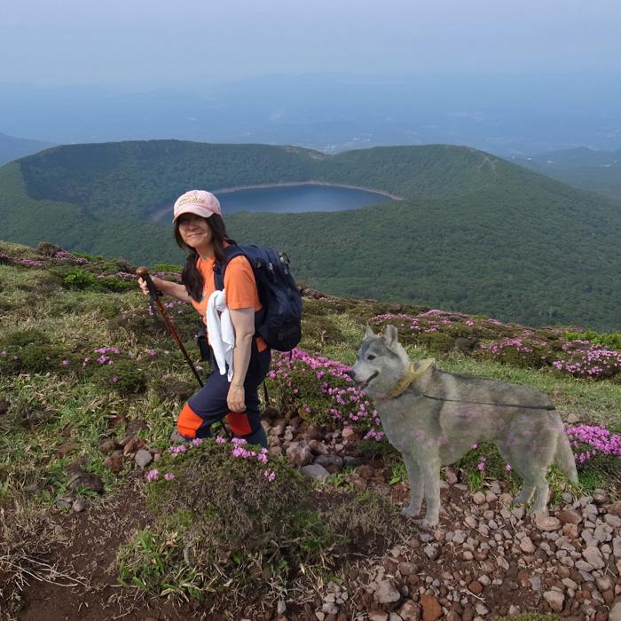 6月7日 韓国岳(Karakunidake) 前半_c0049299_20302573.jpg