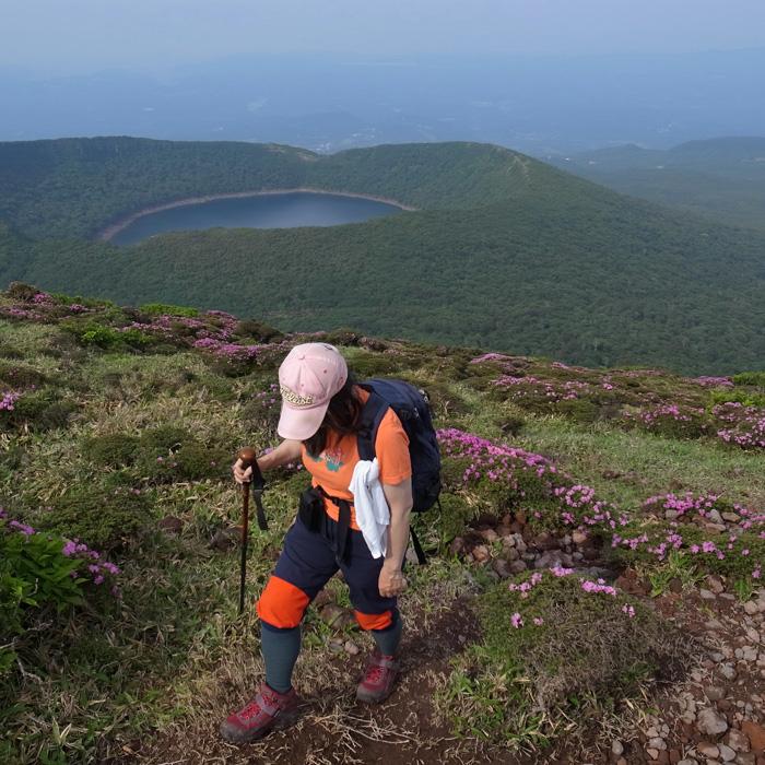 6月7日 韓国岳(Karakunidake) 前半_c0049299_2031174.jpg