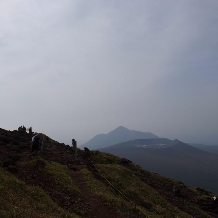 6月7日 韓国岳(Karakunidake) 前半_c0049299_20323114.jpg