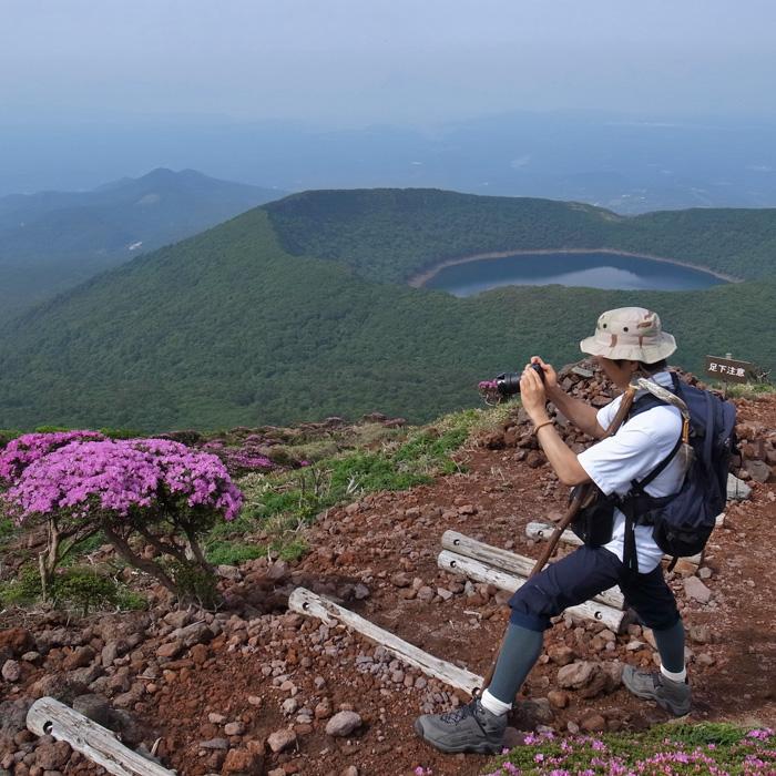 6月7日 韓国岳(Karakunidake) 前半_c0049299_20483194.jpg