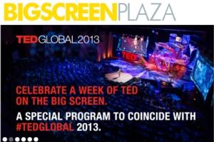 NYのビッグ・スクリーン・プラザでTEDGLOBAL 2013_b0007805_12514528.jpg