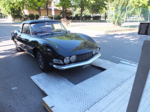 Fiat Dino spider has been collected this morning_a0129711_18352393.jpg