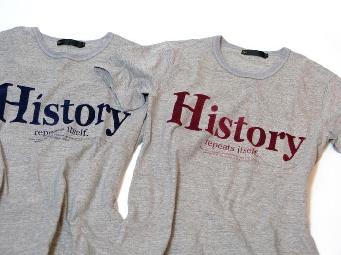 History Logo T-shirt _e0142928_23231978.jpg