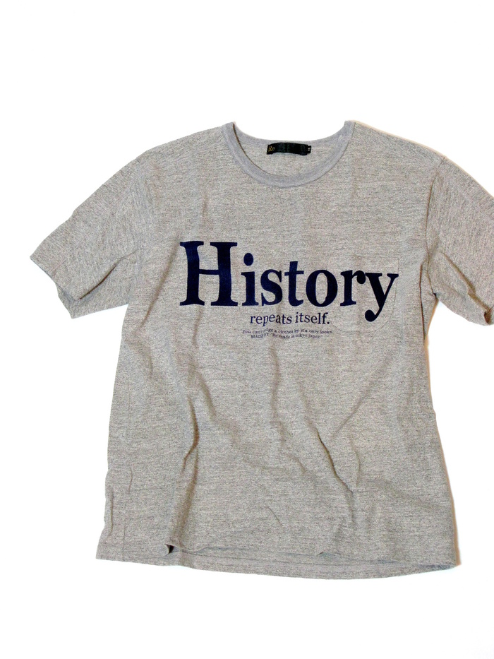 History Logo T-shirt _e0142928_23235540.jpg
