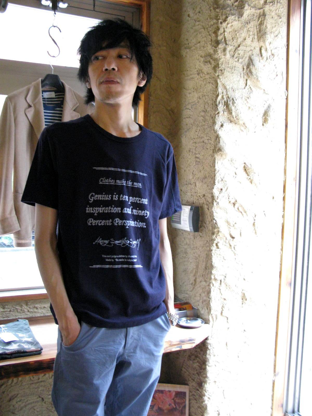 ◆Vintage Tenjiku Logo T-shirt_e0142928_23422921.jpg
