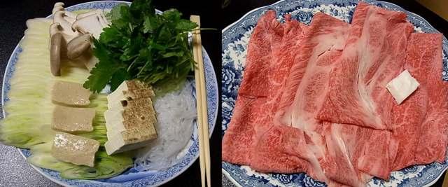 純銀鍋でいただく加賀名店のすき焼き_a0138976_18534420.jpg