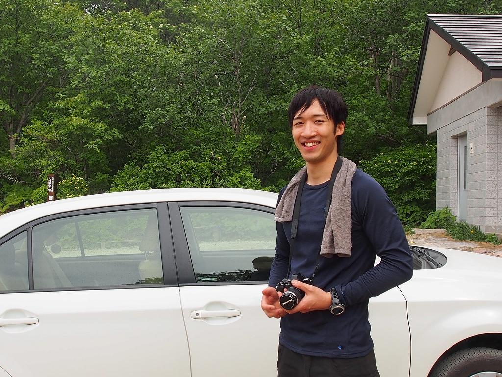 6月13日、樽前山のエゾイソツツジとコマクサ_f0138096_1575872.jpg