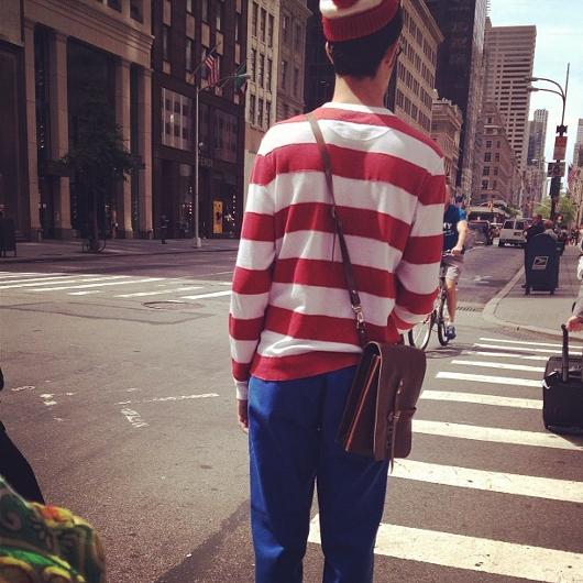 この夏NYに「ウォーリーを探せ!」のウォーリーが出没中!!! #WaldoNYC_b0007805_2125563.jpg