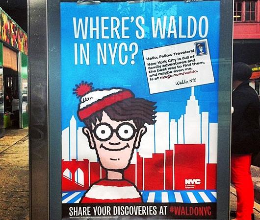 この夏NYに「ウォーリーを探せ!」のウォーリーが出没中!!! #WaldoNYC_b0007805_21261920.jpg