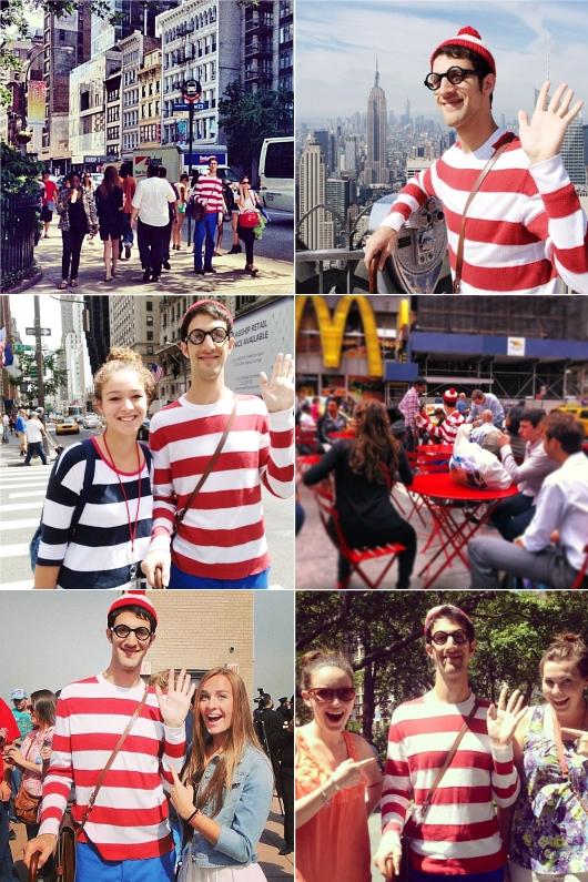 この夏NYに「ウォーリーを探せ!」のウォーリーが出没中!!! #WaldoNYC_b0007805_2126973.jpg
