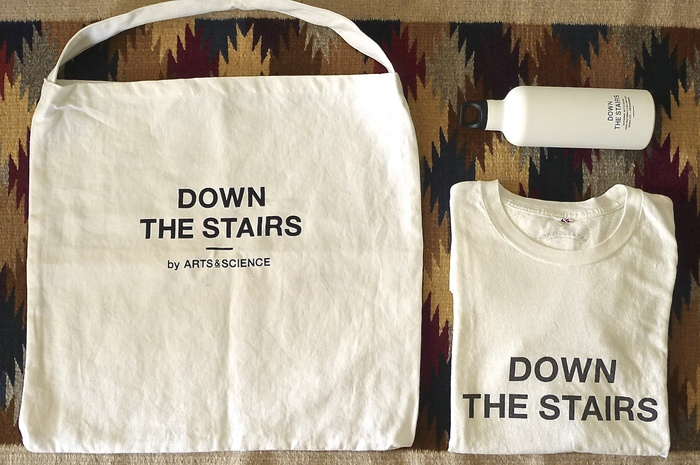 DOWN THE STAIRS   by  ARTS&SCIENCE_f0010106_23181165.jpg