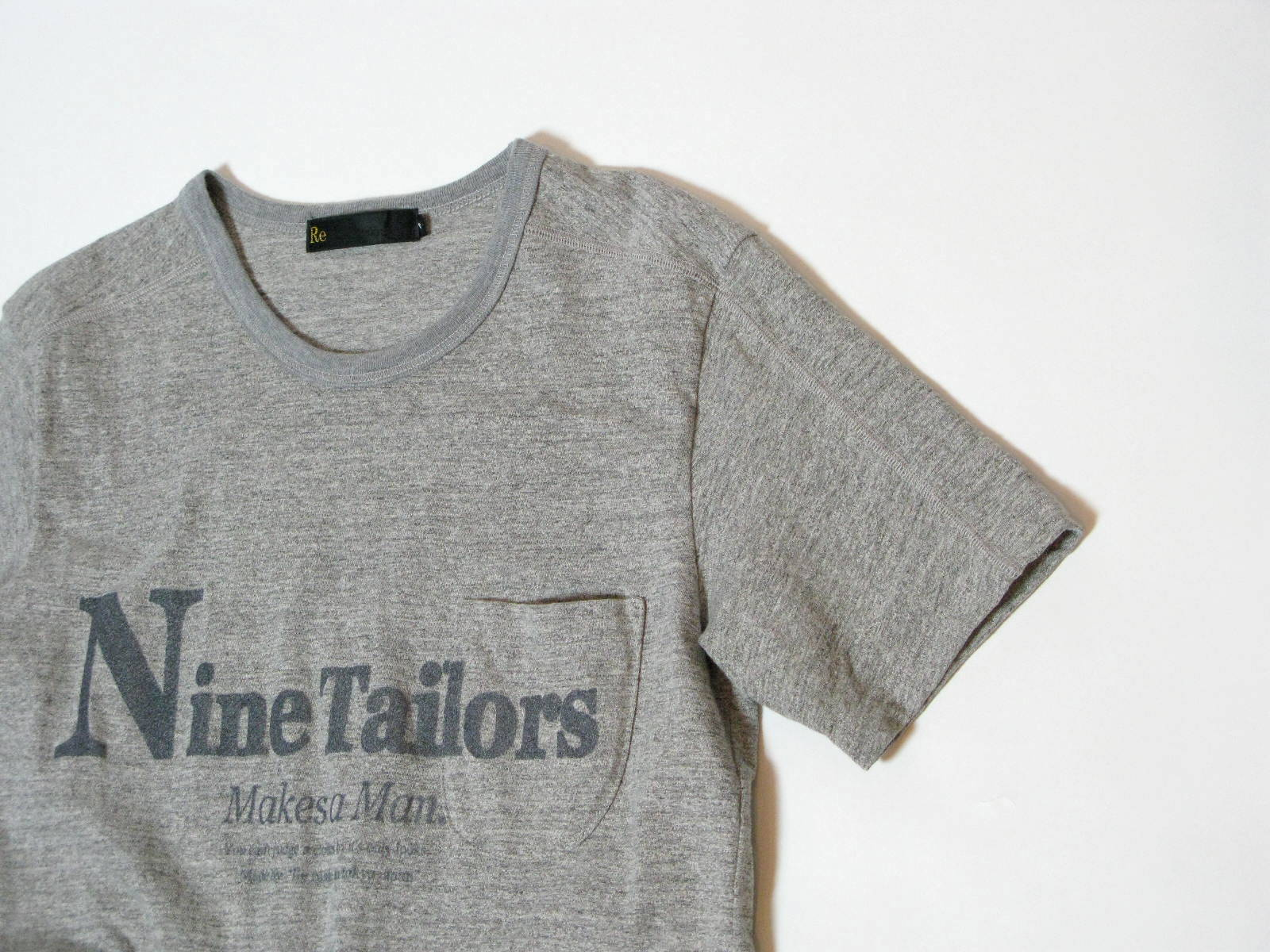Nine Tailors Logo T-shirt _e0142928_02401.jpg
