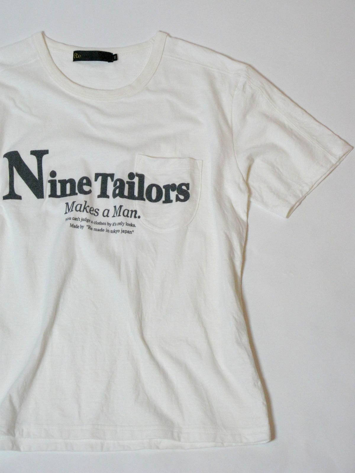 Nine Tailors Logo T-shirt _e0142928_02519.jpg
