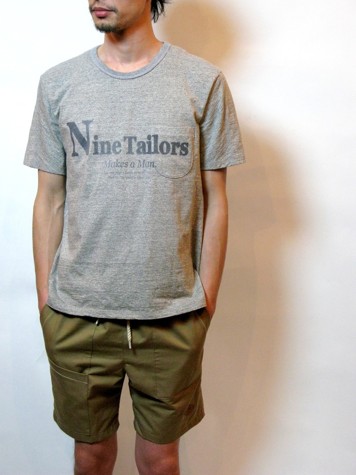 Nine Tailors Logo T-shirt _e0142928_0322100.jpg