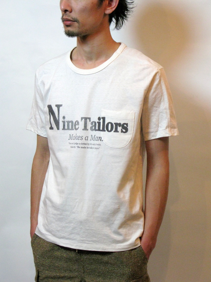 Nine Tailors Logo T-shirt _e0142928_04309.jpg