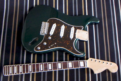 「British Racing Green 2 MetのStandard-S」の塗装完了!_e0053731_16283279.jpg