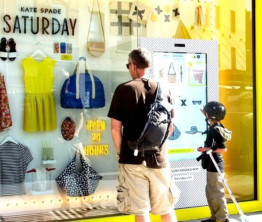NYにオープン中のeBayとKate Spade Saturdayのユニークなお店_b0007805_22461942.jpg