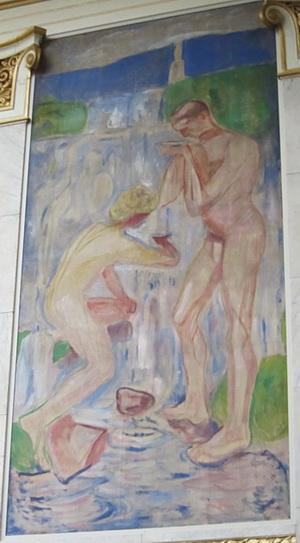 ムンクの壁画_a0086828_2304893.jpg