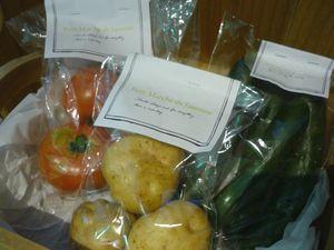 父の日と新鮮野菜。_f0166439_1857245.jpg