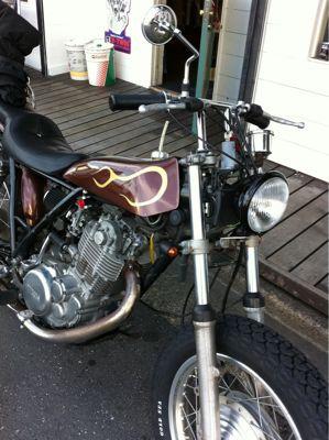 本日のバイク‼_f0194657_17214424.jpg