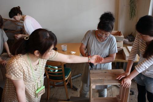 DIY女子ワークショップ ディスプレイラックを作ろう!_d0237564_16495215.jpg