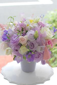 フローラフローラ花の教室 6月の生徒さん作品_a0115684_22511867.jpg