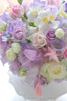 フローラフローラ花の教室 6月の生徒さん作品_a0115684_2254075.jpg