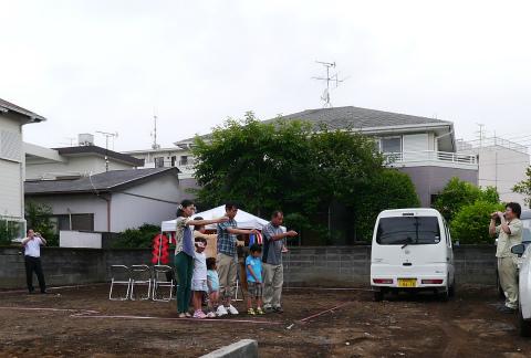 6/15(土、大安)~竣工式、上棟、地鎮祭_c0160488_131390.jpg