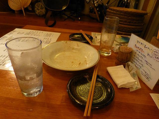 2013年6月西表島ダイビング 2日目夜 居酒屋いりむてぃや_c0118393_15273531.jpg