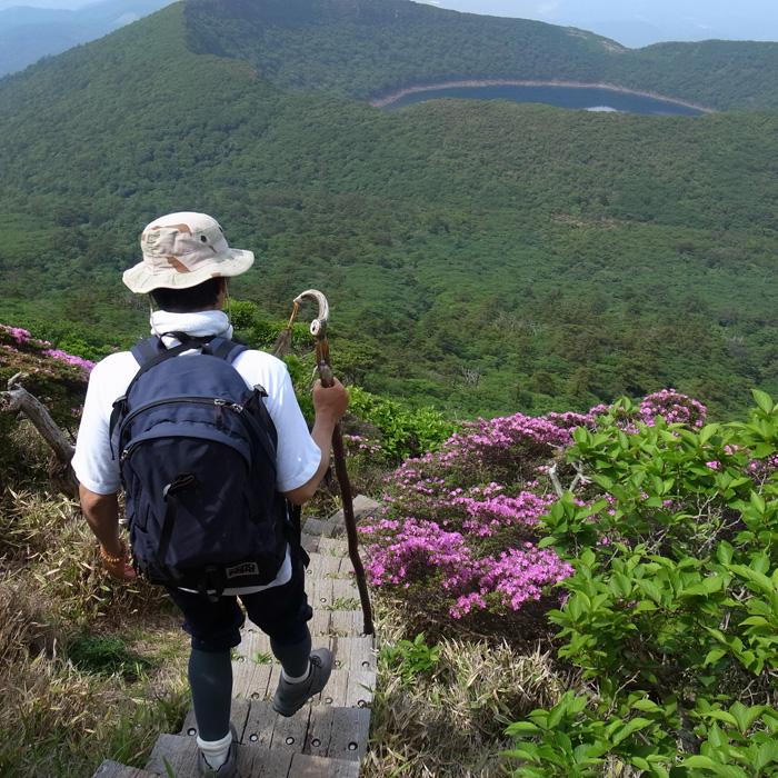 6月7日 韓国岳(Karakunidake) 後半_c0049299_15165611.jpg