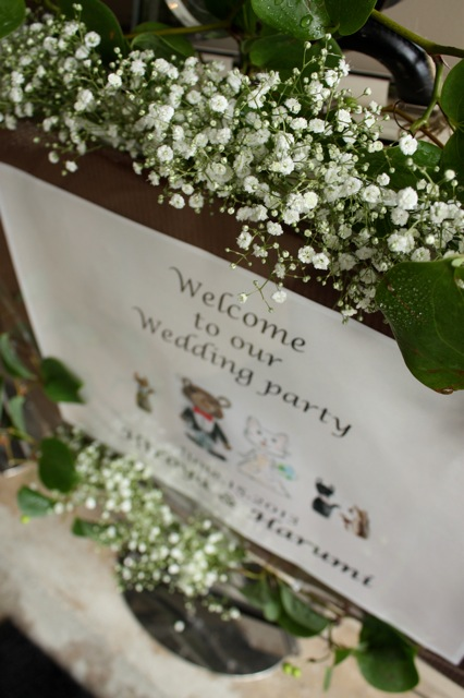 かすみ草の花嫁さん_e0141819_9335692.jpg