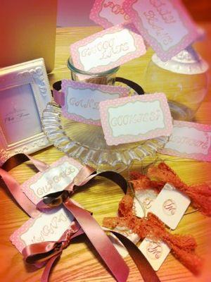 Candy buffet♪ お菓子のビュッフェ☆_c0043737_8183955.jpg
