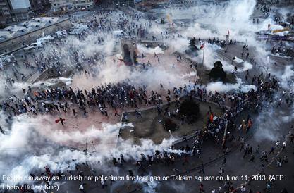 トルコ旅行記 42 イスタンブール タクシム広場_a0092659_2243798.jpg