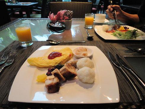 大好き♪シンガポール旅行 その6 マンダリンオリエンタルの朝食_f0054260_1556379.jpg