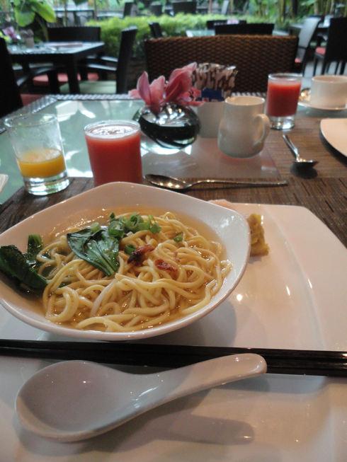 大好き♪シンガポール旅行 その6 マンダリンオリエンタルの朝食_f0054260_15582227.jpg