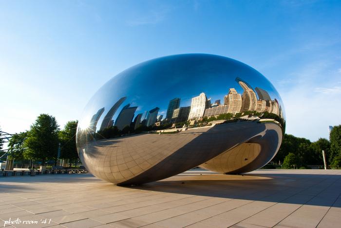 Chicago Summer pt.10 ~空と空の間の豆~ 6/18/2013_e0250481_0475532.jpg